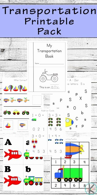 Transportation Worksheets for Preschoolers Best Of 85 Free Transportation Worksheets
