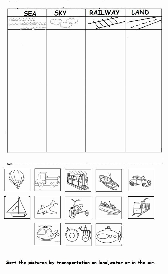 Transportation Worksheets for Preschoolers New Crafts Actvities and Worksheets for Preschool toddler and