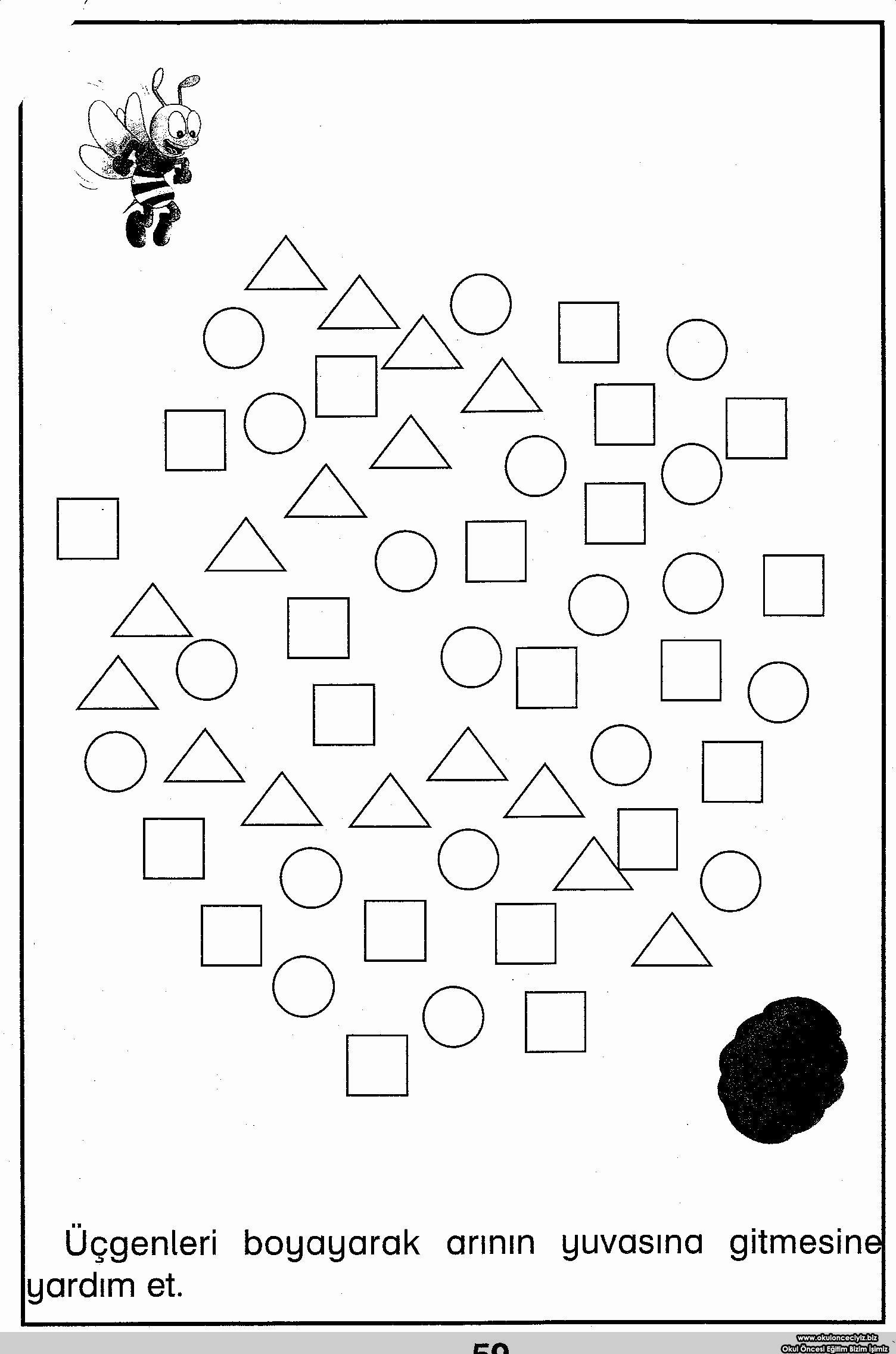 Triangle Printable Worksheets for Preschoolers Awesome Triangle Tracing Worksheet for toddlers Printable Worksheets