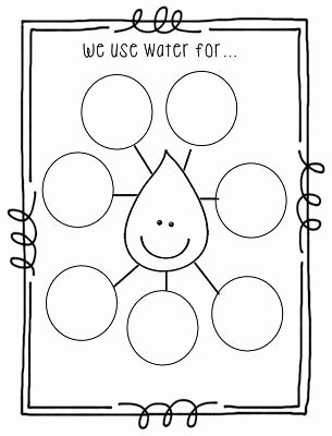 Uses Of Water Worksheets for Preschoolers Fresh Creating Symmetry and A Natural Resources Unit