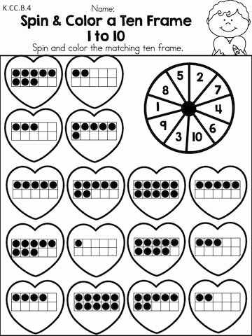 Valentine Day Math Worksheets for Preschoolers Best Of Valentine S Day Math Activities Kindergarten