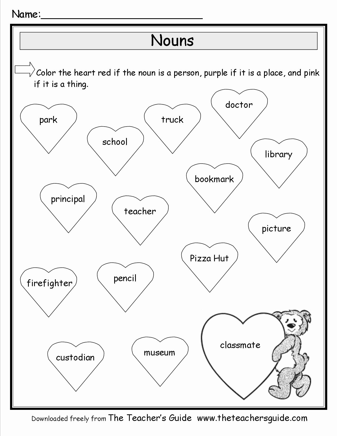Valentine Day Math Worksheets for Preschoolers New Valentine Printouts From the Teacher Guide Printable