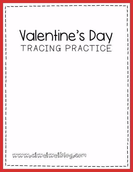 Valentine Day Worksheets for Preschoolers Beautiful Free Printable Cupcake Tracing Valentine S Day Preschool