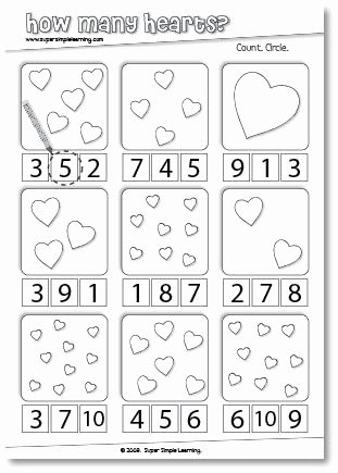 Valentine Worksheets for Preschoolers Awesome Skidamarink