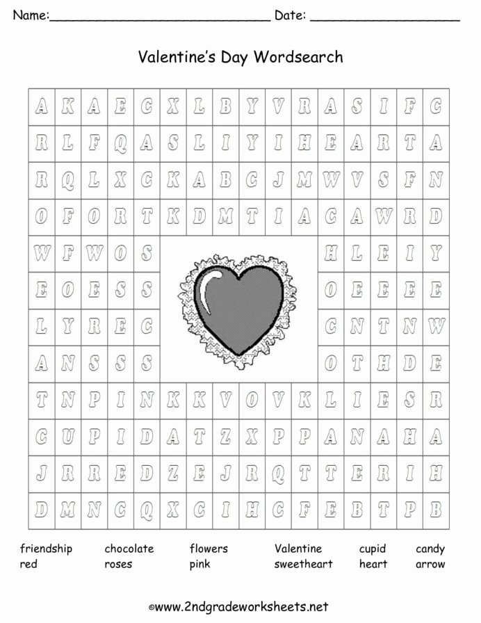 Valentine Worksheets for Preschoolers New Valentine Printouts and Worksheets Fun Math