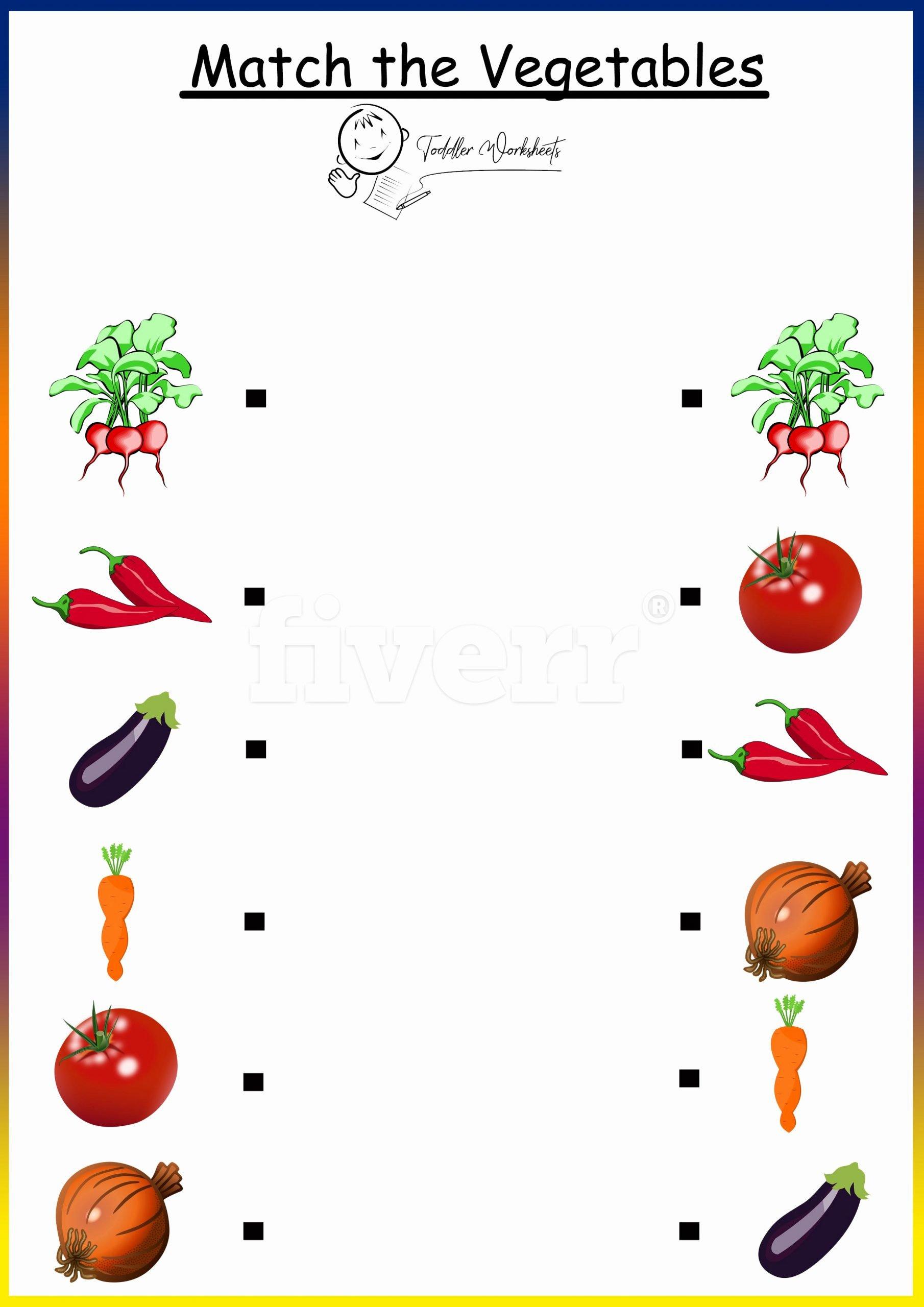 Vegetables Worksheets for Preschoolers Beautiful Preschool Free Worksheets Ve Ables