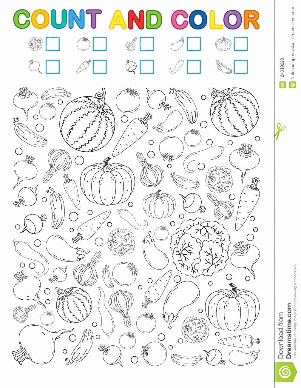 Vegetables Worksheets for Preschoolers Inspirational 20 Ve Able Worksheets for Kindergarten