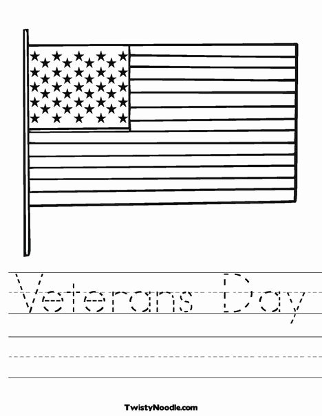 Veterans Day Worksheets for Preschoolers Lovely Veterans Day Worksheet