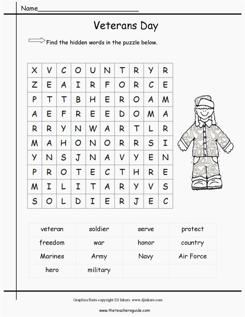 Veterans Day Worksheets for Preschoolers top Printable Coloring Veterans Day Page Colorful Dog