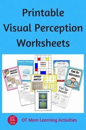 Visual Perception Worksheets for Preschoolers Fresh Printable Visual Perceptual Worksheets