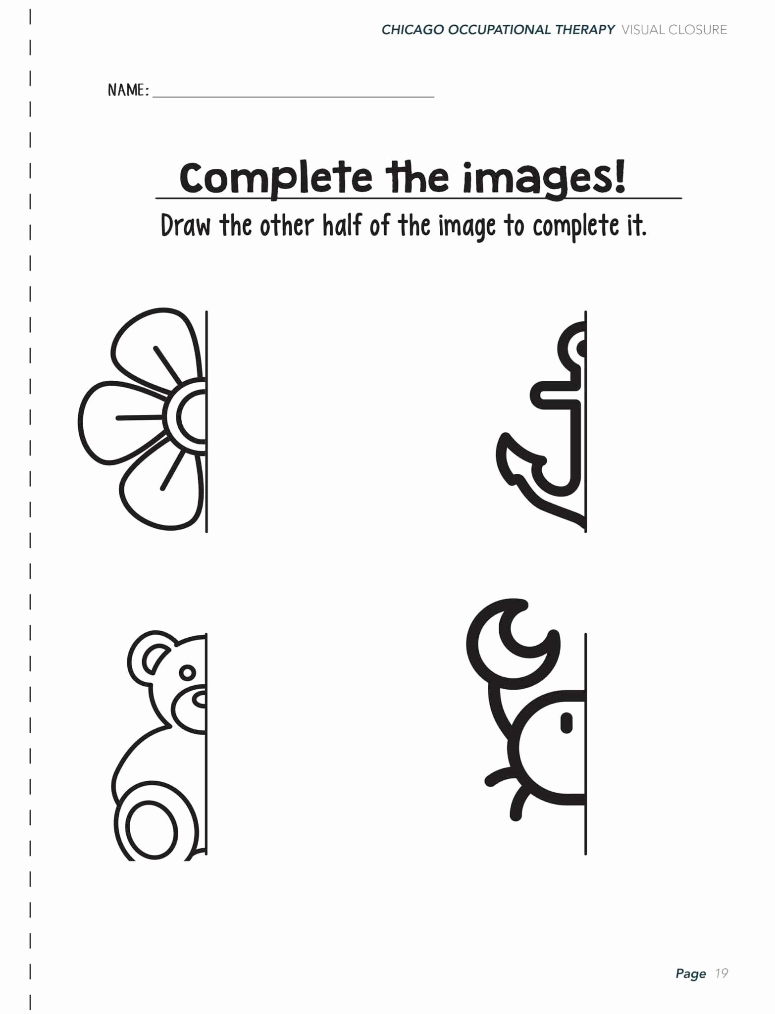 Visual Perception Worksheets for Preschoolers Fresh Visual Perceptual Worksheets Printable and Activities