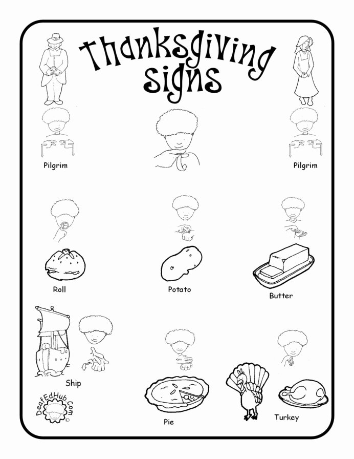 Vocabulary Worksheets for Preschoolers New Sign Language Vocabulary Worksheets Printable and thesaurus