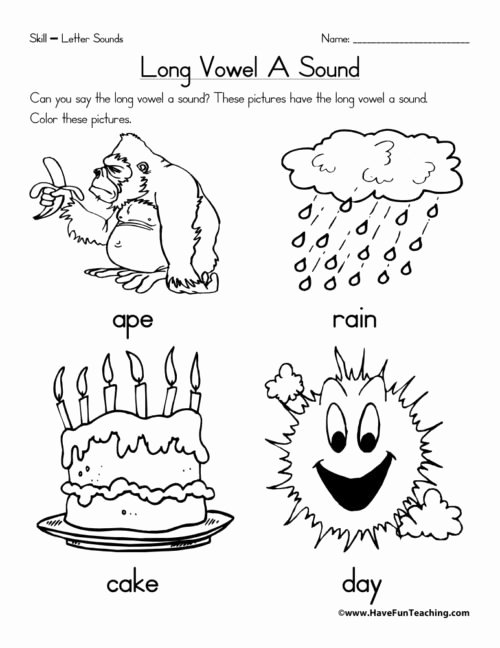Vowels Worksheets for Preschoolers Awesome Vowels Worksheets • Have Fun Teaching