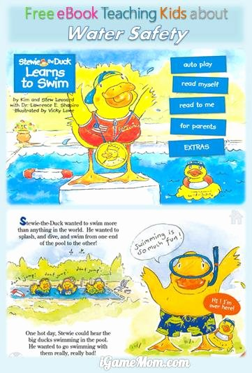 Water Safety Worksheets for Preschoolers Inspirational Stewie the Duck Teaches Preschoolers Water Safety