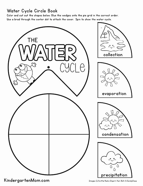 Water Worksheets for Preschoolers Inspirational Free Water Cycle Printables for Kids Create This Free