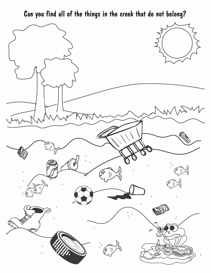 Water Worksheets for Preschoolers Lovely Water Pollution Coloring at Getdrawings Free Cycle