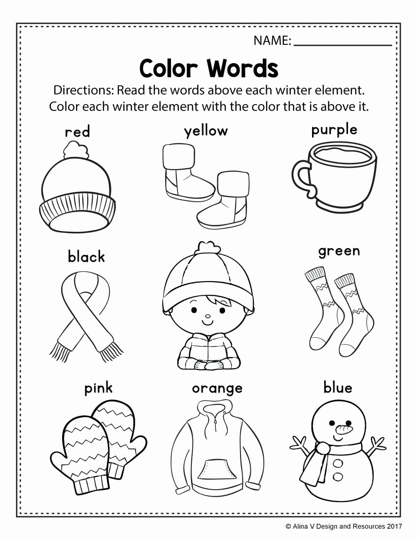 Weather Worksheets for Preschoolers Lovely Coloring for Kindergarten Sheet Spring Math