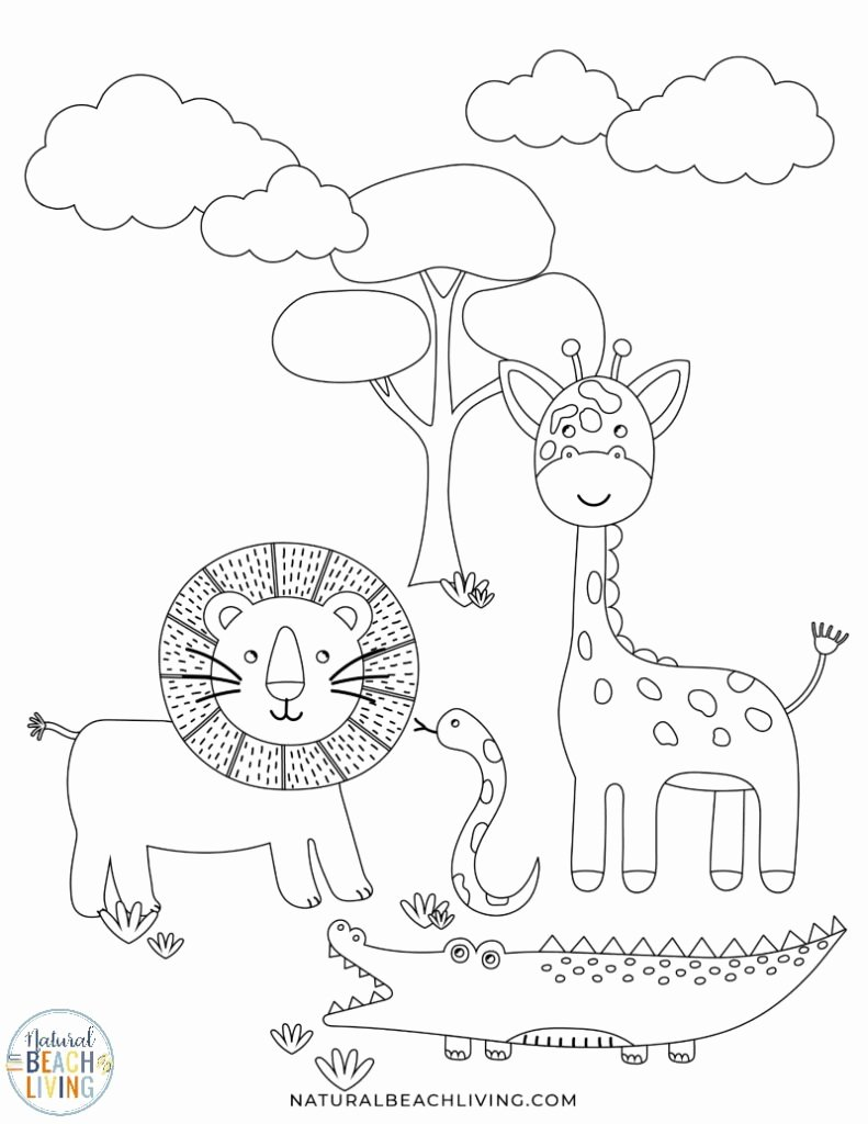 Wild Animal Worksheets for Preschoolers Lovely Wild Animals Printables for Preschool and Kindergarten