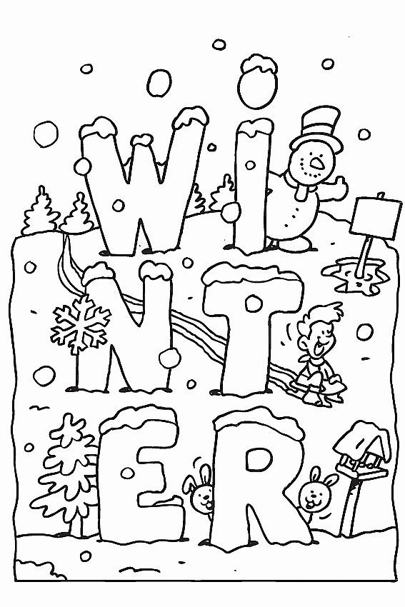 Winter Activities Worksheets for Preschoolers Inspirational top Free Printable Winter Coloring for Kids Your Little