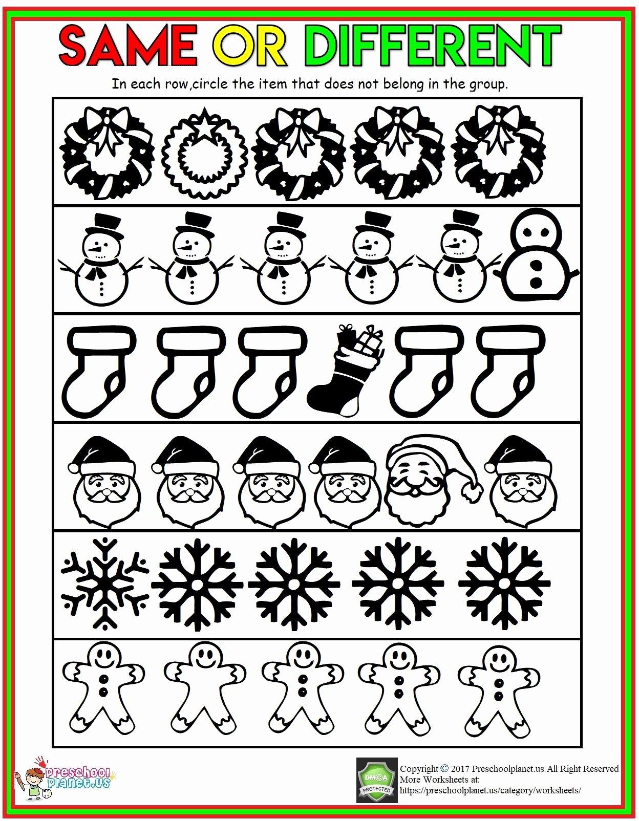 Winter Activity Worksheets for Preschoolers Awesome Preschool Worksheet Number for Winter Printable Worksheets