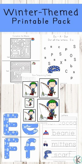 Winter Activity Worksheets for Preschoolers Unique Free Winter Printable Pack