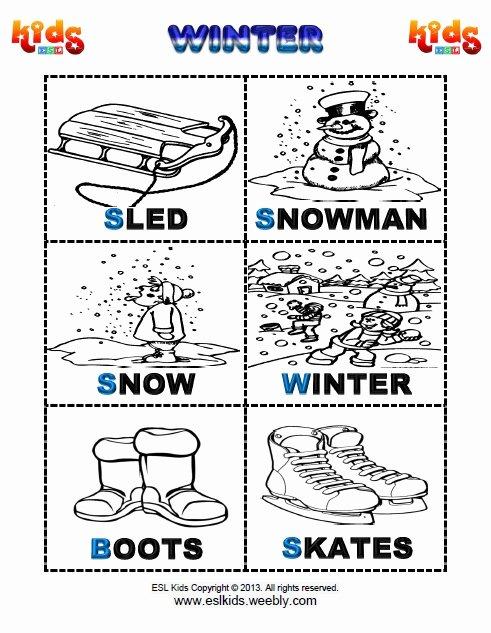 Winter Activity Worksheets for Preschoolers Unique Winter Activities Games and Worksheets for Kids