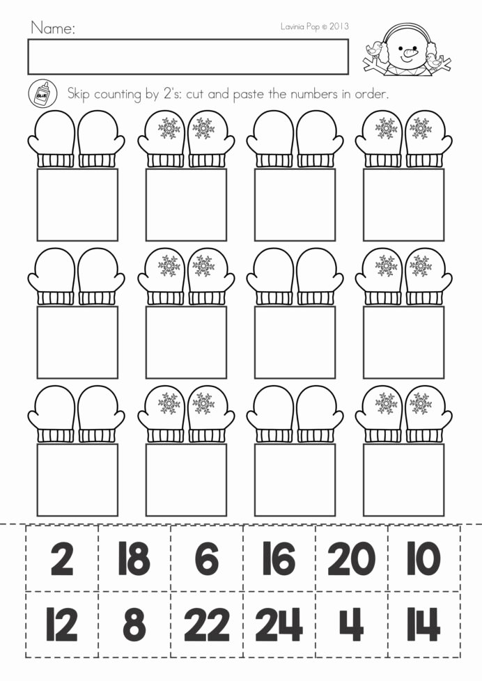 Winter Math Worksheets for Preschoolers Beautiful Winter Math Worksheets for Preschoolers Worksheet Best Open
