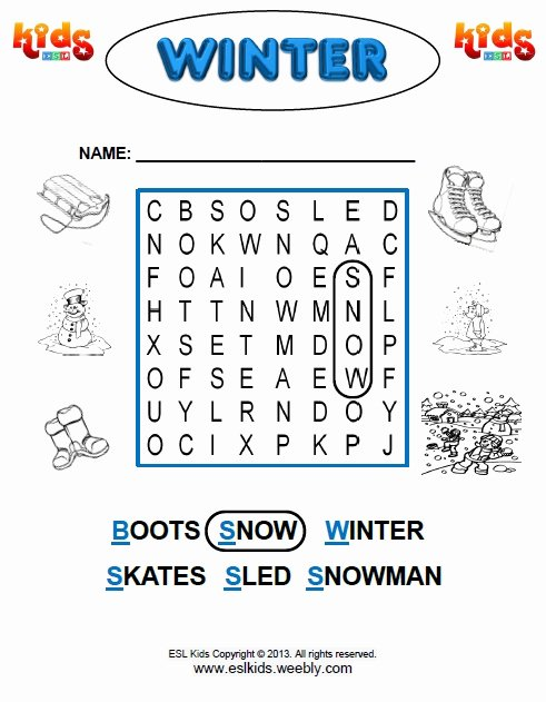 Winter Worksheets for Preschoolers Awesome Winter Activities Games and Worksheets for Kids Kindergarten