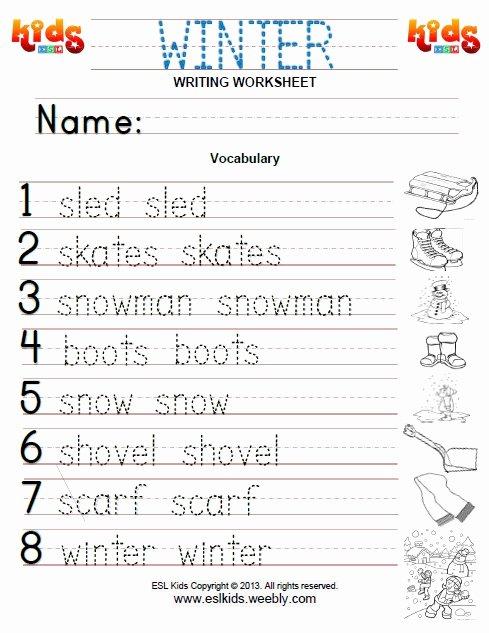 Winter Worksheets for Preschoolers Inspirational Winter Activities Games and Worksheets for Kids Kindergarten
