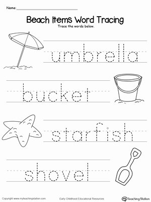 Word Tracing Worksheets for Preschoolers Awesome Worksheet Number Tracing Worksheetsnting for Kindergarten