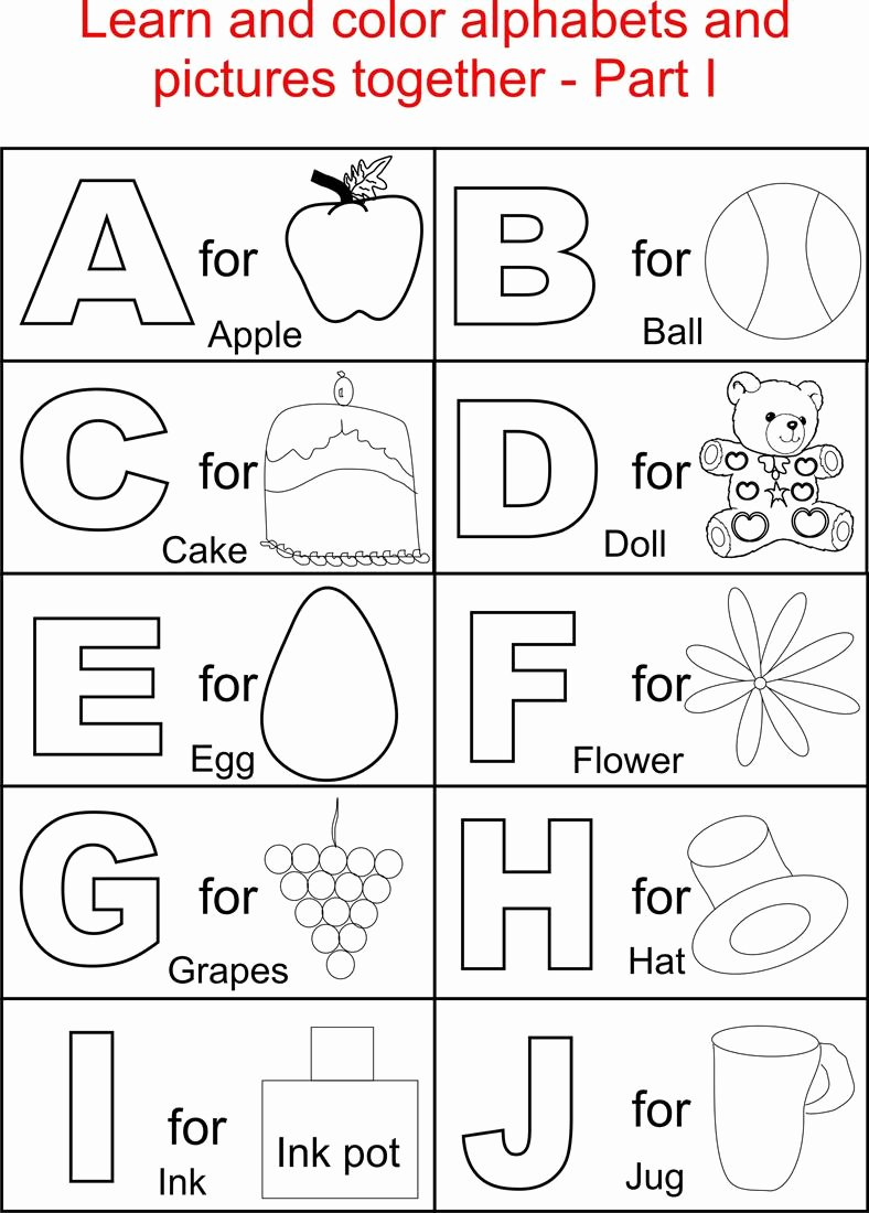 Worksheets for Preschoolers Alphabet Lovely Math Worksheet Preschool Sheets for Alphabet Practice