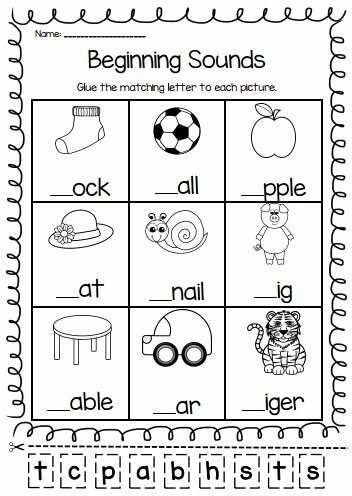 Worksheets for Preschoolers English Beautiful English Worksheet for Kindergarden In 2020