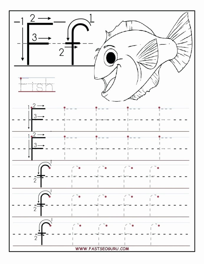 Worksheets for Preschoolers Letters Lovely Trace Worksheets for Preschoolers Printable Letter Tracing