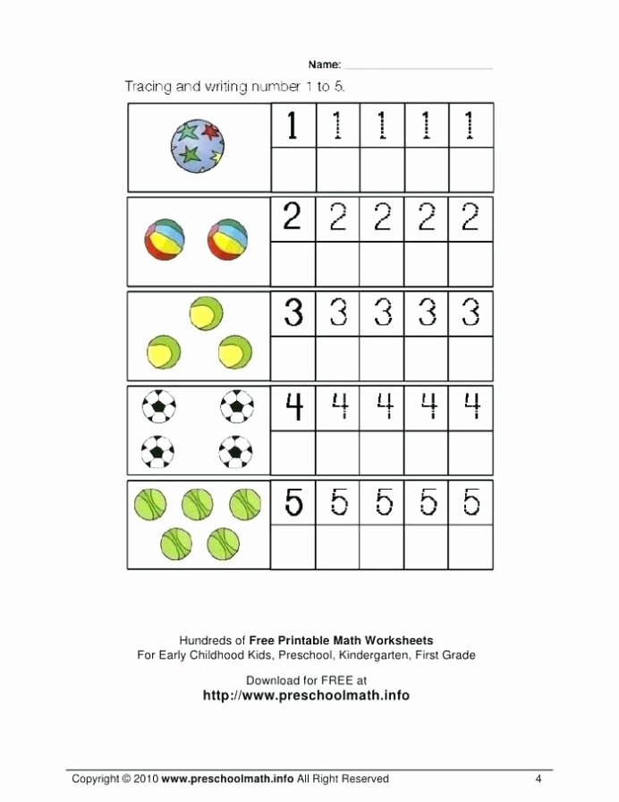 Worksheets for Preschoolers Math Beautiful Coloring Pages Free Name Tracing Worksheets for Preschool