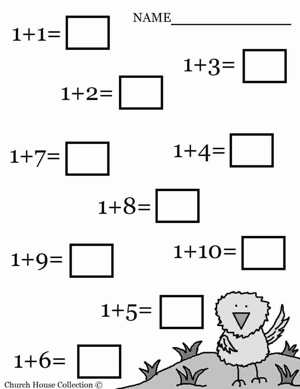 Worksheets for Preschoolers Math Inspirational Math Worksheet Outstanding Easy Worksheets for
