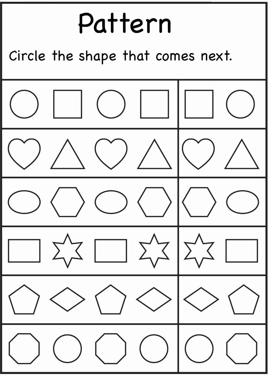 Worksheets for Preschoolers Math Unique Worksheet Kindergarten Worksheets Math Preschool