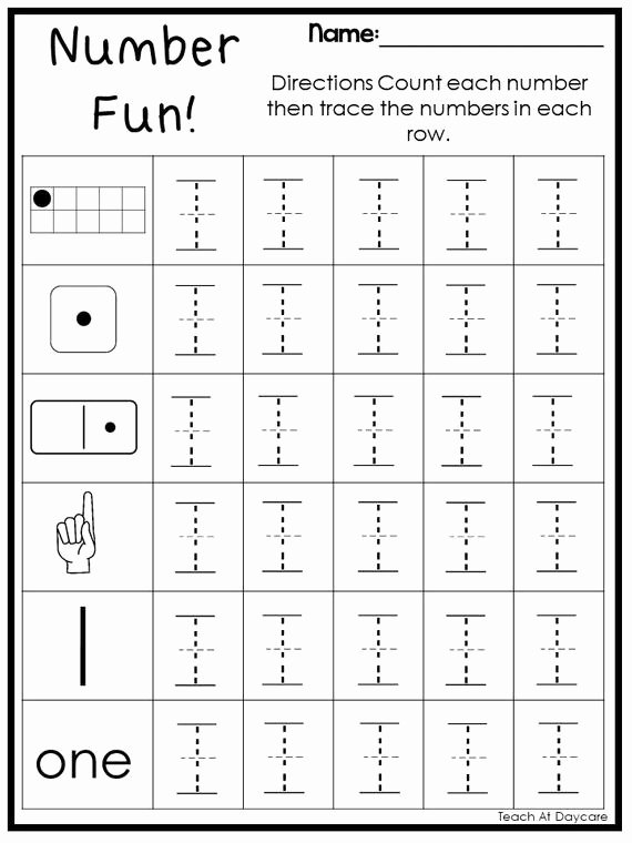 Worksheets for Preschoolers Numbers Awesome 10 Printable Number Fun Subitizing 1 20 Worksheets Preschool Kindergarten Numbers and Math