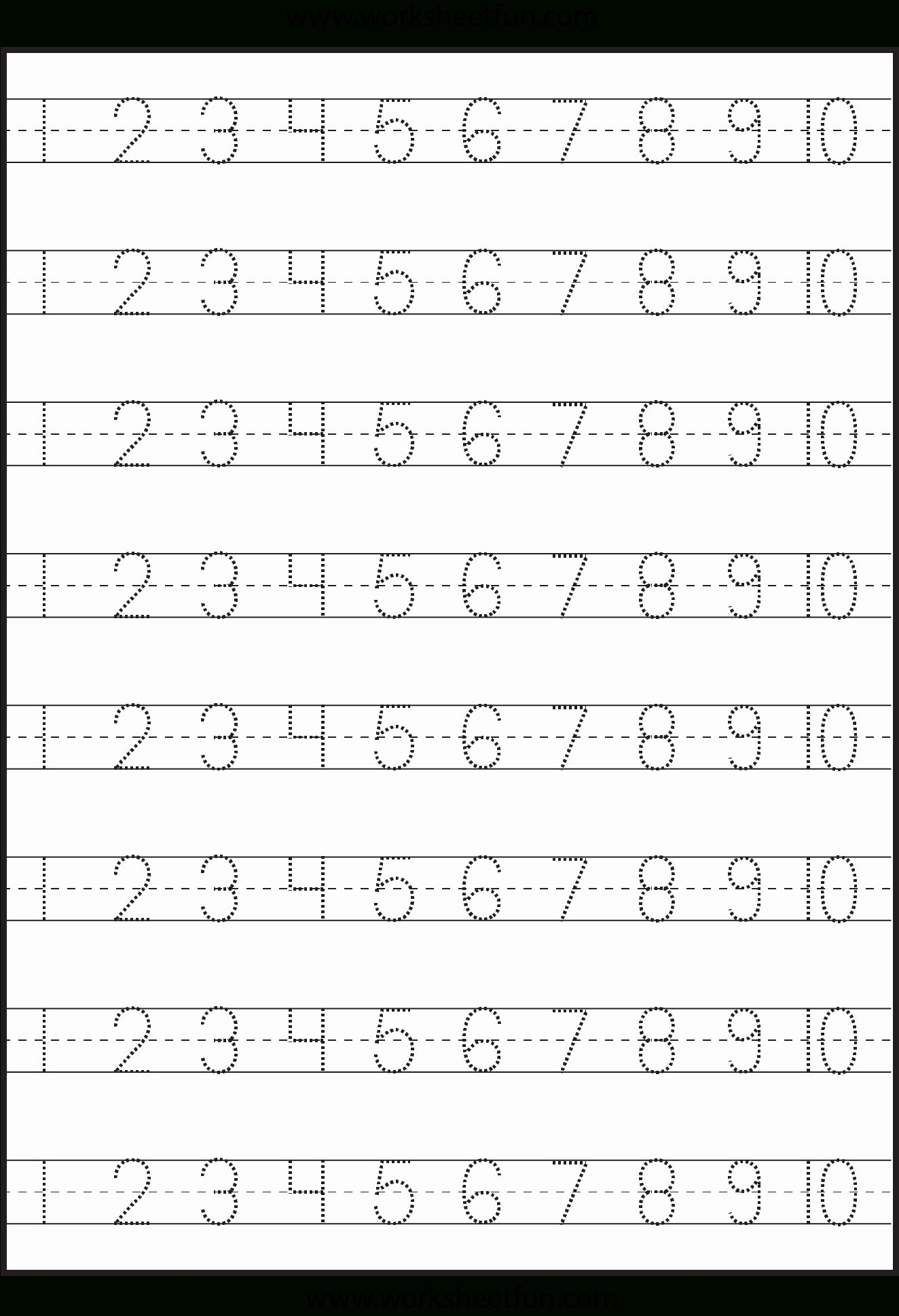 Worksheets for Preschoolers Numbers Awesome Worksheets Kingandsullivan Writing Numbers assessment