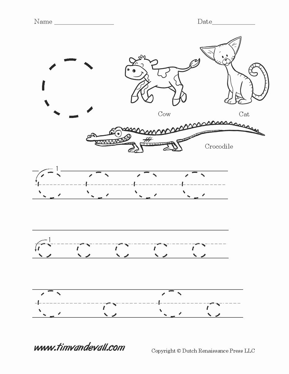 Worksheets for Preschoolers On Letters Lovely Letter C Worksheets and Activities Coloring Pages for Kids