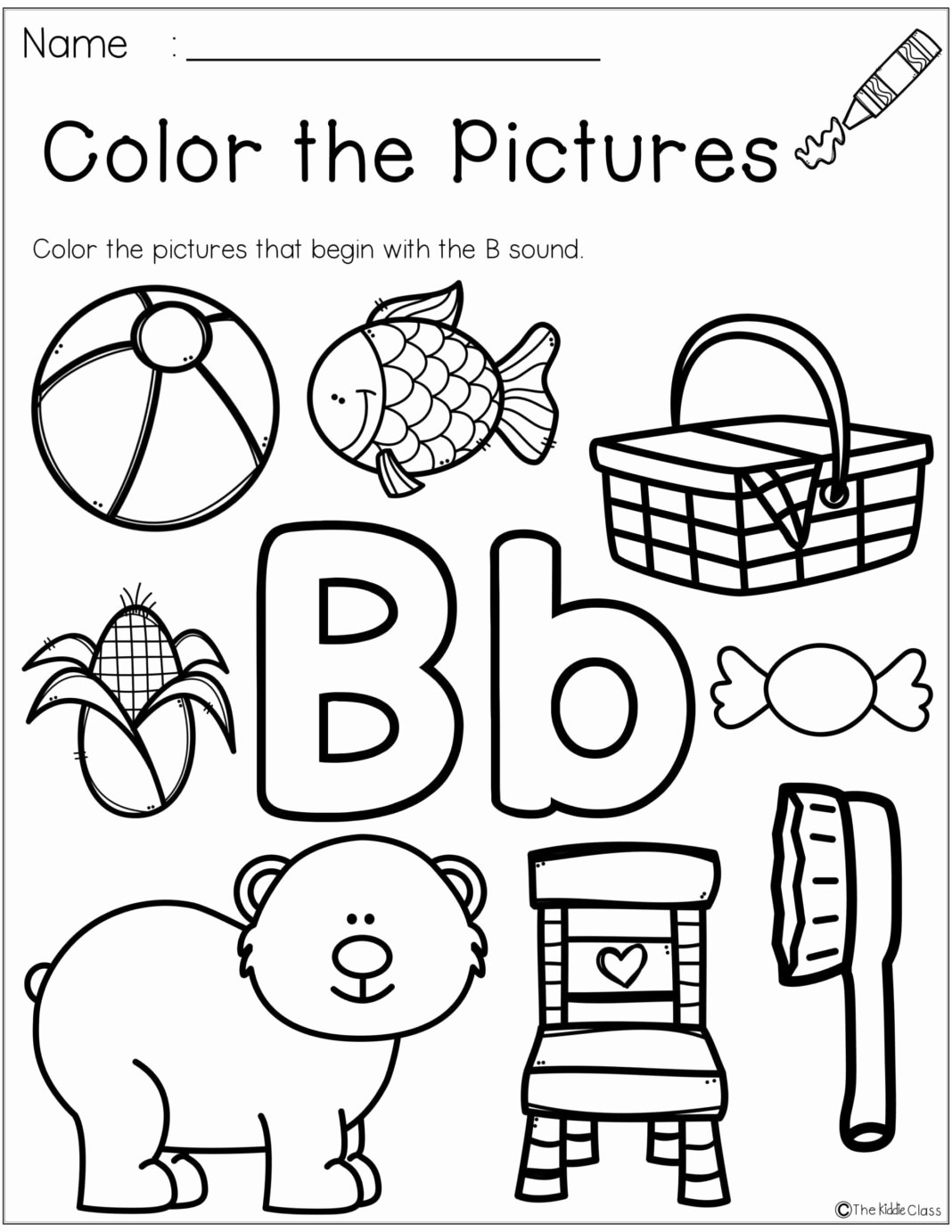Worksheets for Preschoolers On Letters Lovely Worksheets Free Letter the Week Worksheets Preschool
