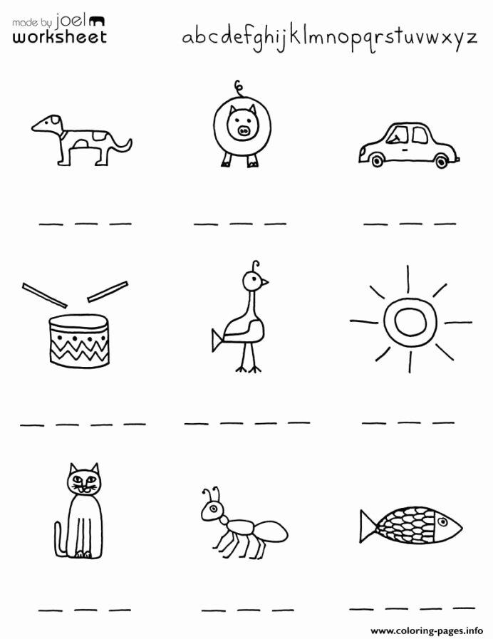 Worksheets for Preschoolers Printable Fresh Kindergarten Worksheets Preschool Printables for Kids