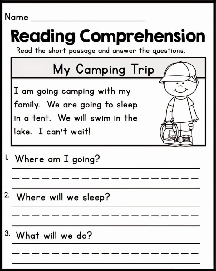 Worksheets for Preschoolers Reading Beautiful Printable Worksheets for Kindergarten Reading Free Std Math
