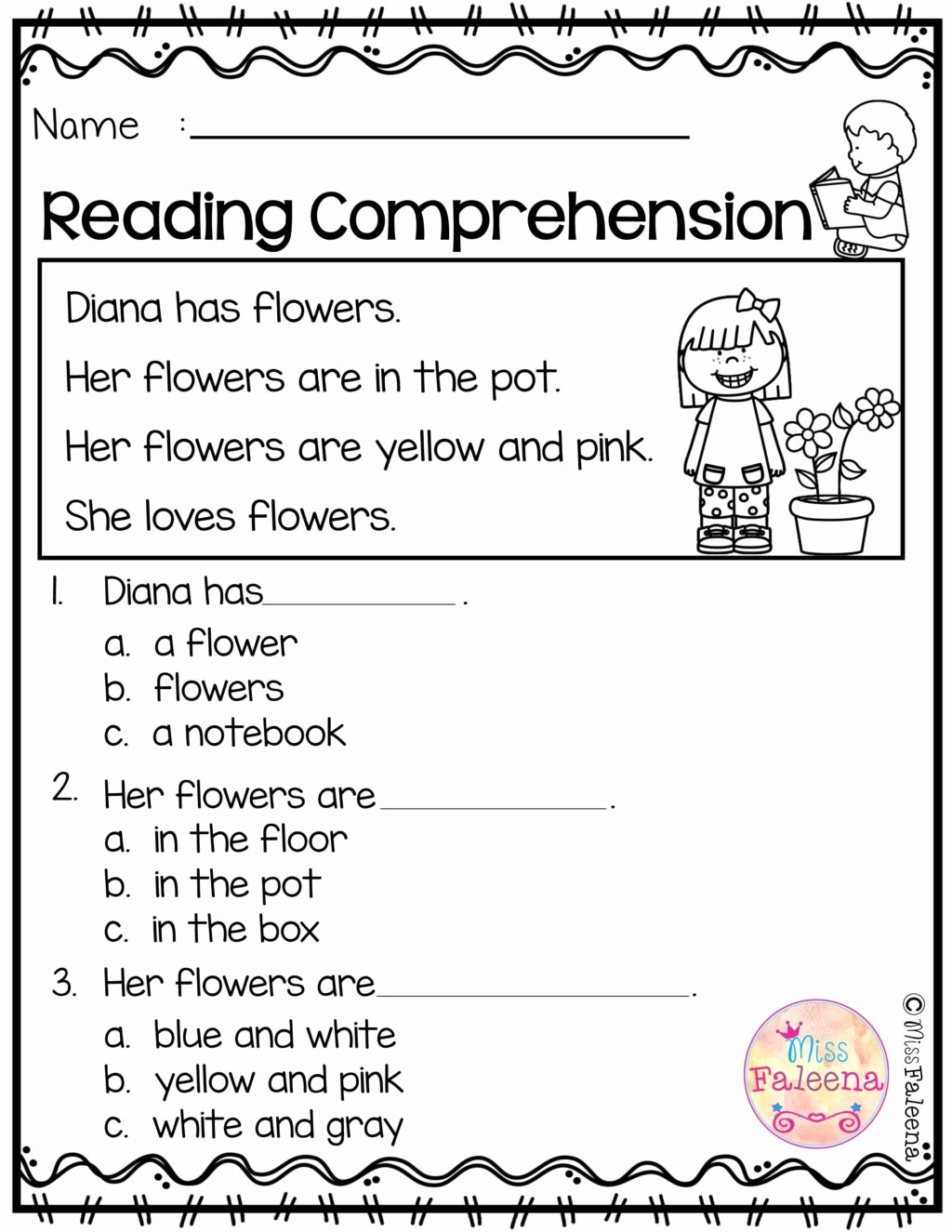 Worksheets for Preschoolers Reading Beautiful Worksheet Free Reading Prehension Worksheet