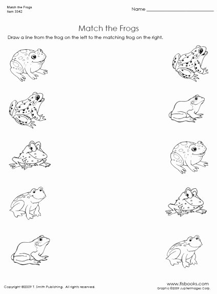 Worksheets for Preschoolers Uk Inspirational Free Matching Objects Worksheets for Preschoolers