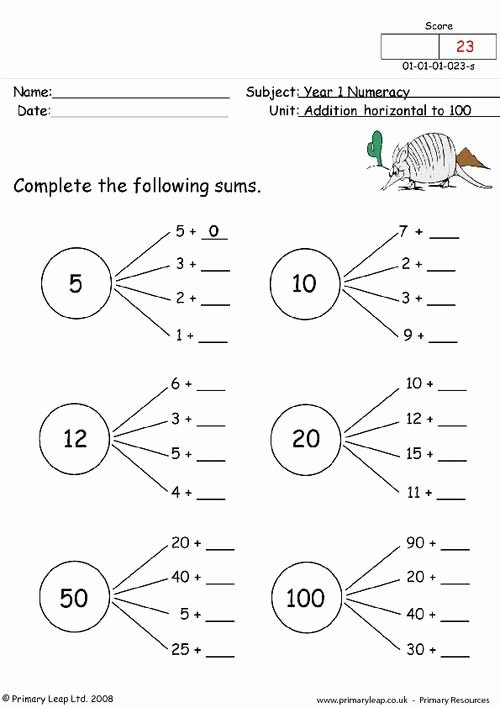 Worksheets for Preschoolers Uk New 7th Grade Skills Year 1 Uk Maths Worksheets Fun Math