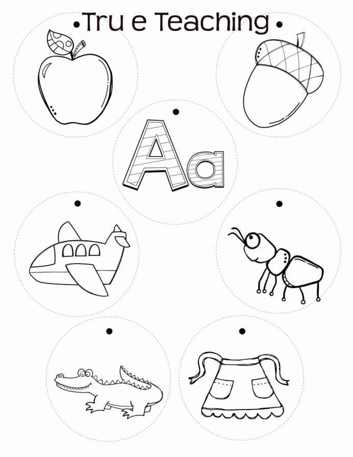 Writing Abc Worksheets for Preschoolers Awesome Alphabet Necklaces Necklace Crafts Worksheets for