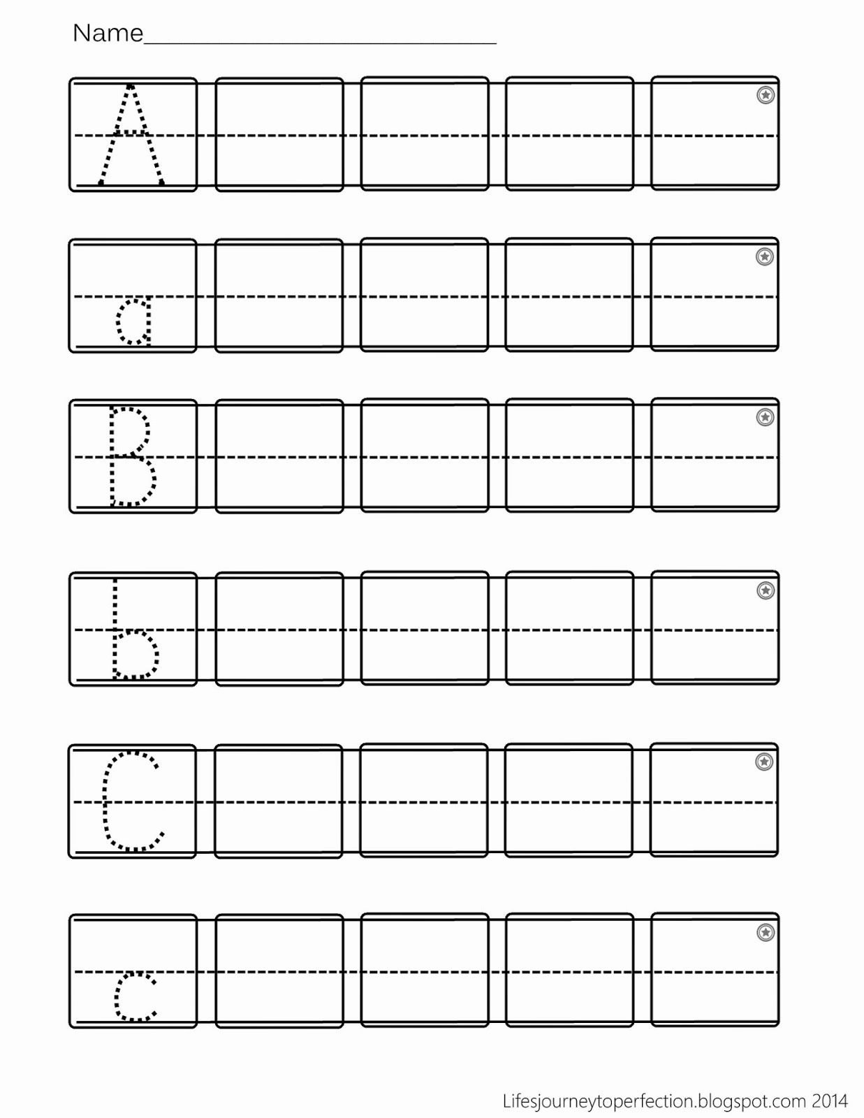 Writing Abc Worksheets for Preschoolers Awesome Preschool Practice Abc Writing Worksheet Printables