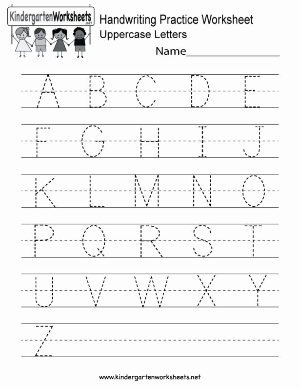 Writing Name Worksheets for Preschoolers Inspirational Name Handwriting Worksheets for Printable Free Preschool