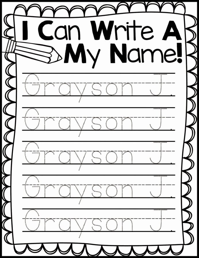 Writing Name Worksheets for Preschoolers Unique Freebie Friday Name Handwriting Practice Kindergarten Names