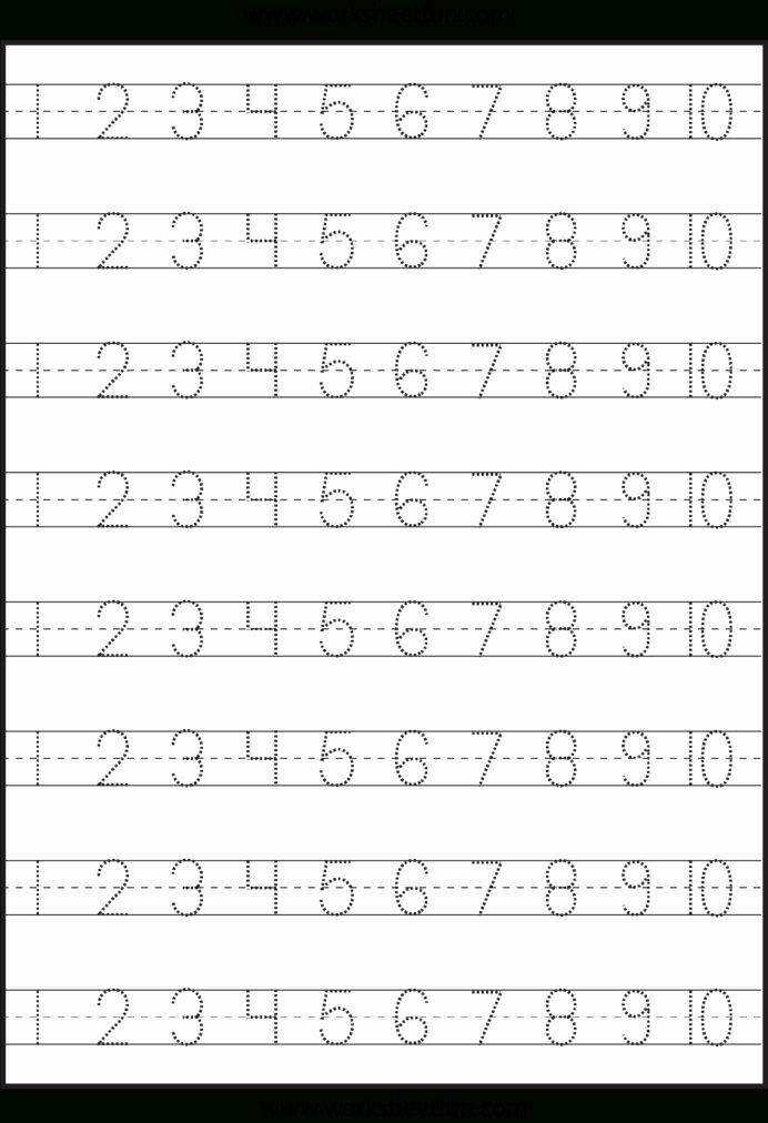 Writing Numbers Worksheets for Preschoolers top Worksheets Write Numbers 1 20 Worksheet Year 4 Maths